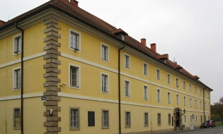 Terezín Memorial. Former Magdeburg Barracks - exposition of literary works in the Terezín Ghetto